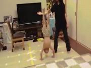 """Thể thao - """"Lý Tiểu Long"""" 6 tuổi tung tuyệt kỹ phi thường: Ai cũng phục"""