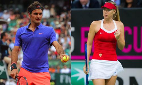 """2017, """"mùa vàng"""" của Federer và Sharapova?"""