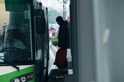 Ảnh: Xe buýt nhanh