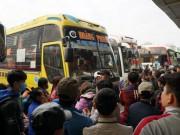 Tin tức trong ngày - Cả trăm xe từ chối đón khách, bến Mỹ Đình tê liệt