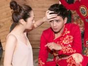 Ca nhạc - MTV - Hồ Quang Hiếu được bạn gái chăm sóc khi đi diễn