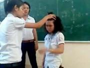 Giáo dục - du học - Hà Nội: Giáo viên cho cả lớp tát vào mặt một học sinh