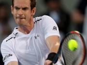 """Thể thao - Murray - Goffin: """"Ngã ngựa"""" bất ngờ (BK Mubadala World Tennis Championships)"""