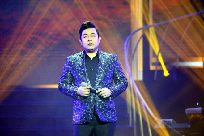 """MC Kỳ Duyên """"dê"""" Quang Dũng bằng thơ trên sân khấu - 8"""
