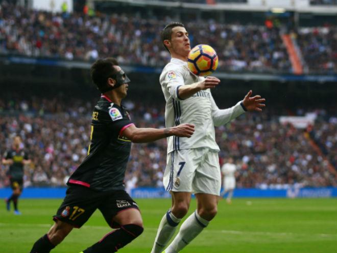 """Real Madrid - Espanyol: Ronaldo """"mở hàng"""", giải hạn sân nhà 2"""