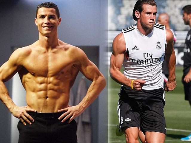 """Bộ """"tam tấu"""" lẫy lừng của Real Madrid toàn trai 6 múi như CR7"""