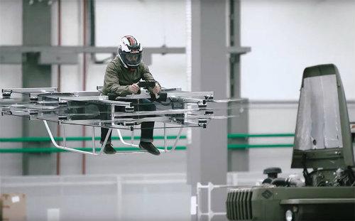 Nhà sản xuất súng AK chế tạo xe bay cực đỉnh - 1