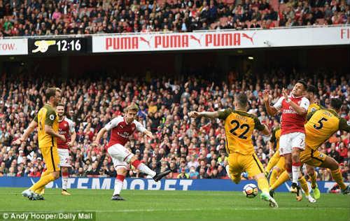 Chi tiết Arsenal - Brighton: Trận thắng nhàn nhã (KT) - 4