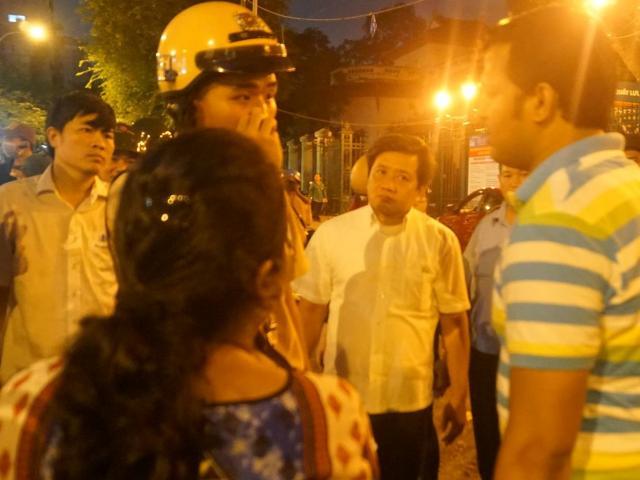 Ông Đoàn Ngọc Hải xin lỗi 2 du khách nước ngoài bị cướp túi xách ở SG