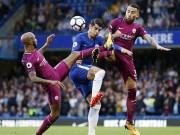 Chelsea - Man City: Trái phá cú sút của siêu sao