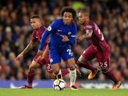 """Bóng đá - Man City thắng lớn Chelsea: Báo Anh thích hơn MU """"cơ bắp"""""""