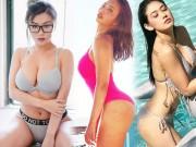 Thời trang - Dàn mỹ nữ mũm mĩm khiến bao anh mất ngủ khi mặc bikini, nội y nhỏ xíu