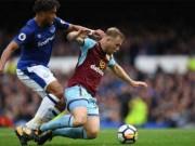 Bóng đá - Everton - Burnley: Sút 23 lần vẫn thua