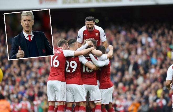 Arsenal bùng nổ, Wenger nhắn Man City, MU chớ vội mừng - 1