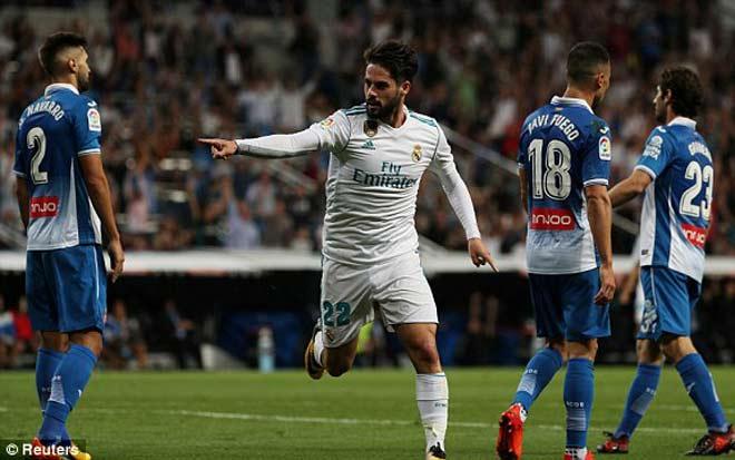 Real Madrid - Espanyol: Đôi chân ma thuật, cú đúp ngất ngây