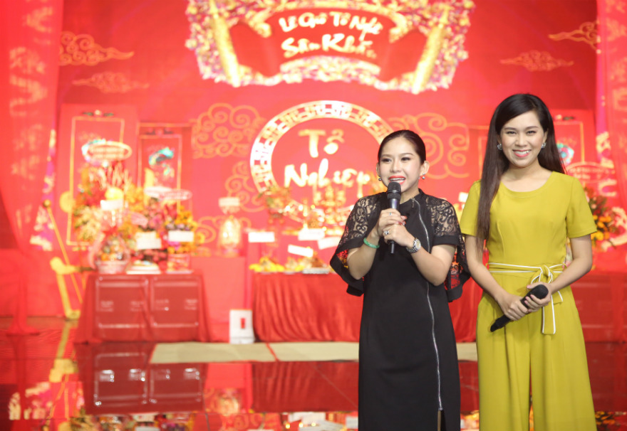 Hoa hậu Đỗ Mỹ Linh xin Tổ ban lộc ở cuộc thi Hoa hậu Thế giới - 14