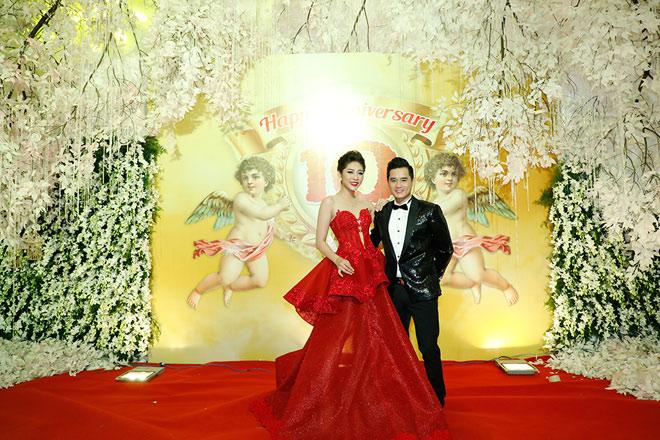 Hoa hậu Đại dương Đặng Thu Thảo nổi bật trong dạ tiệc Angel Beauty - 1