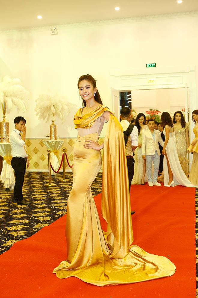 Hoa hậu Đại dương Đặng Thu Thảo nổi bật trong dạ tiệc Angel Beauty - 3