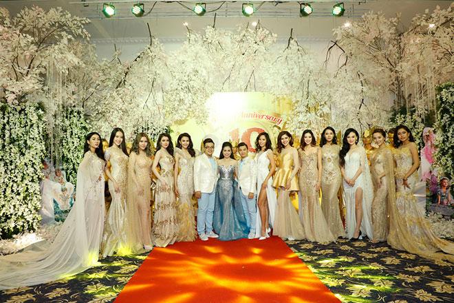 Hoa hậu Đại dương Đặng Thu Thảo nổi bật trong dạ tiệc Angel Beauty - 4