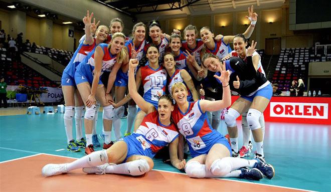 """Bóng chuyền: """"Kiều nữ"""" 1m93 giúp Serbia vượt Nga - Đức, bá chủ châu Âu 1"""
