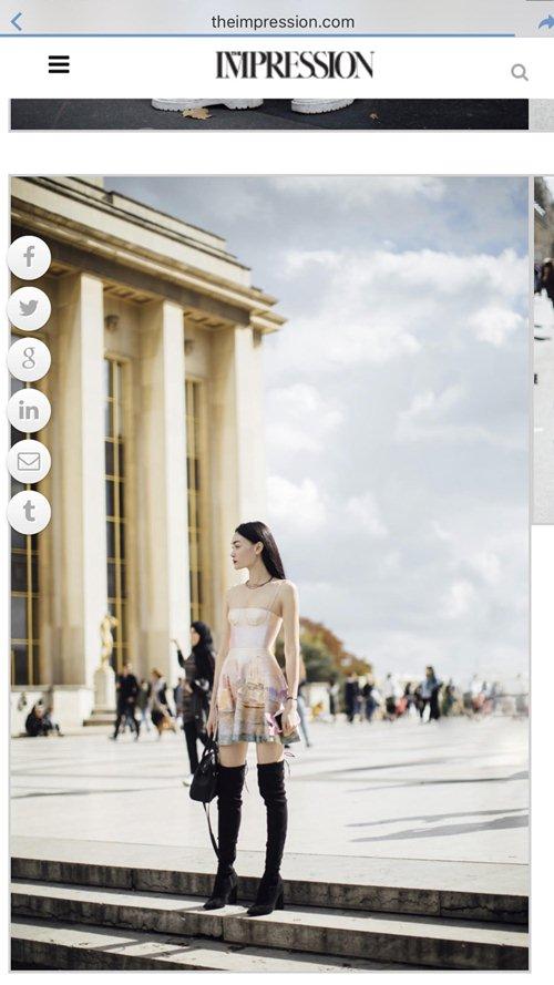 """Sau khi nhận cát xê khủng, Thùy Trang tiếp tục """"công phá"""" Vogue và L' officiel - 4"""