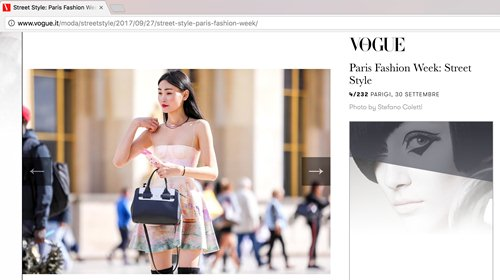 """Sau khi nhận cát xê khủng, Thùy Trang tiếp tục """"công phá"""" Vogue và L' officiel - 3"""