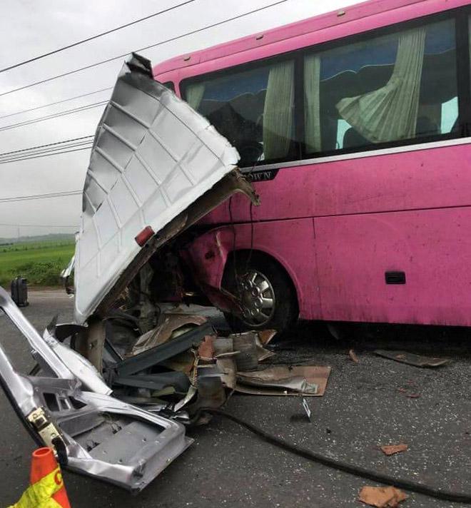 Ảnh: Hiện trường khủng khiếp vụ tai nạn 6 người chết ở Tây Ninh - 5