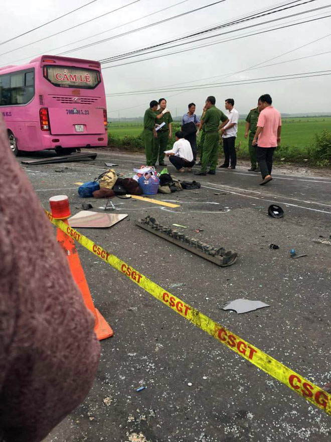 Ảnh: Hiện trường khủng khiếp vụ tai nạn 6 người chết ở Tây Ninh - 8