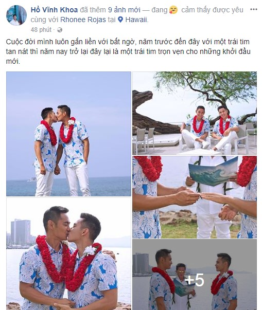"""Fan """"vỡ tim"""" khi Hồ Vĩnh Khoa bí mật kết hôn cùng soái ca người Thái - 4"""