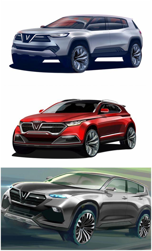 Chiêm ngưỡng 20 mẫu xe concept của VinFast - 3