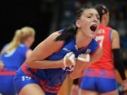 """Thể thao - Bóng chuyền: """"Kiều nữ"""" 1m93 giúp Serbia vượt Nga - Đức, bá chủ châu Âu"""