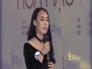 """Thí sinh Hoa hậu Hoàn vũ VN:  """" SEA games là hoạt động thể thao toàn thế giới """""""