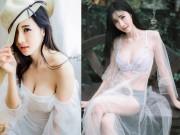 Thời trang - Người đẹp nội y Thái khiến người ta muốn yêu từ cái nhìn đầu tiên