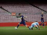 """Bóng đá - Bàn thắng đẹp vòng 7 Liga: Messi diễn tuyệt kỹ Rô """"béo"""", thủ môn hóa chú hề"""