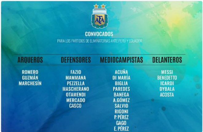 """Argentina """"cung phụng"""" Messi: Loại """"thánh ám"""" Higuain, biến sân nhà thành Nou Camp 2"""