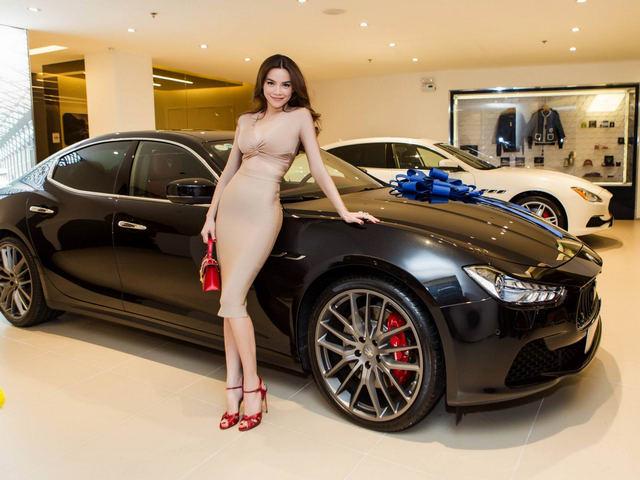Hồ Ngọc Hà sắm siêu xe Maserati 7 tỷ đồng - 3