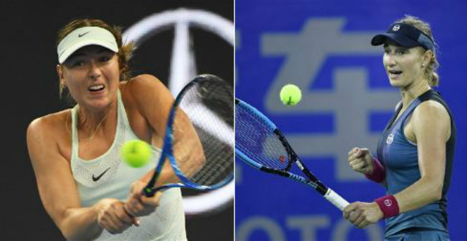 Sharapova - Makarova: Đẳng cấp thăng hoa 3 set 1