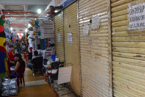 Chợ ế ẩm, xuống cấp: Eo hẹp kinh phí sửa chữa - 1
