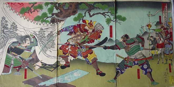 """Trận đánh không tưởng của """"quỷ vương"""" Nhật: 3.000 quân dẹp tan 4 vạn - 3"""