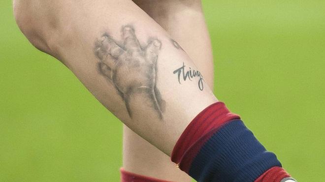 """Bí ẩn sau hình xăm """"độc"""" của Messi, Beckham, Sergio Ramos - 2"""