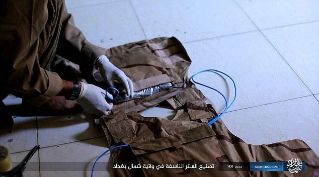 """Bí mật bên trong """"áo vest tử thần"""" của khủng bố IS - 2"""