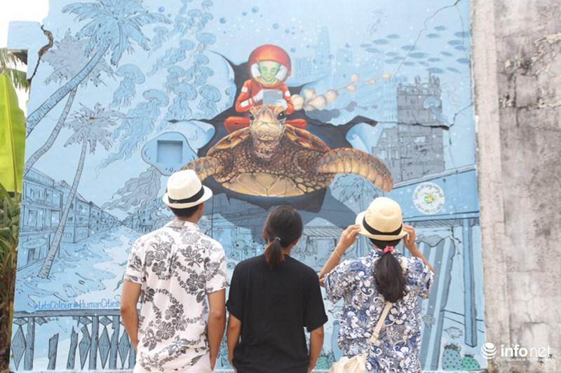 Làng bích họa đẹp mê hồn giữa thiên đường biển Lý Sơn - 10