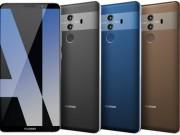 Rò rỉ các tùy chọn màu của Huawei Mate 10 Pro