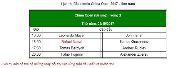 China Open 5/10: Mỹ nhân dừng bước 2