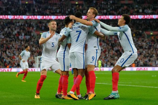 """Anh - Slovenia: Chờ """"song sát"""" Kane - Rashford giật vé World Cup 1"""