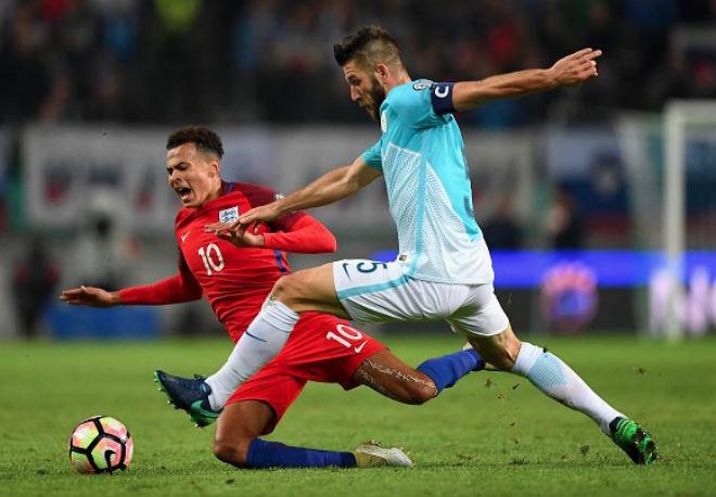 """Anh - Slovenia: Chờ """"song sát"""" Kane - Rashford giật vé World Cup 2"""