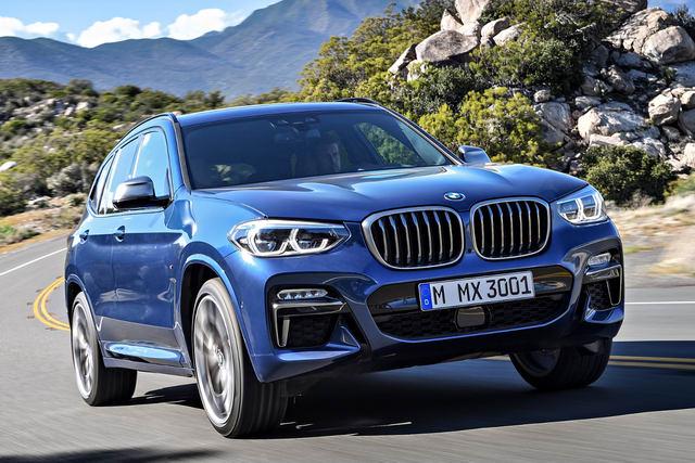 BMW X3 2018 có giá khởi điểm từ 1,56 tỷ đồng