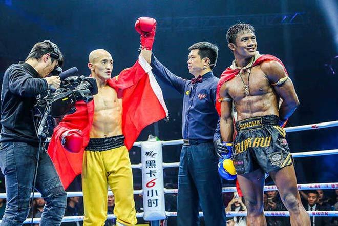 """""""Thánh Muay Thái"""" thắng trận 301, hẹn đấu """"Đệ nhất Thiếu Lâm"""" 1"""