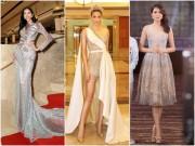 Váy nữ thần quá lộng lẫy của Phạm Hương đẹp nhất tuần qua