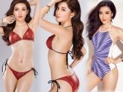 """Thời trang - Huyền My siêu nóng với bikini trước khi """"chinh chiến"""" Hoa hậu Hòa bình thế giới"""